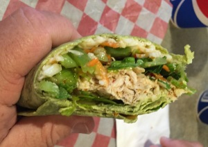 Dads Orange Chicken Cool Style Wrap