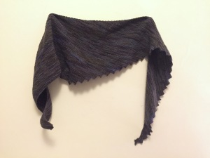 Hitchhiker Scarf, completed
