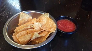 El Patron chips and salsa