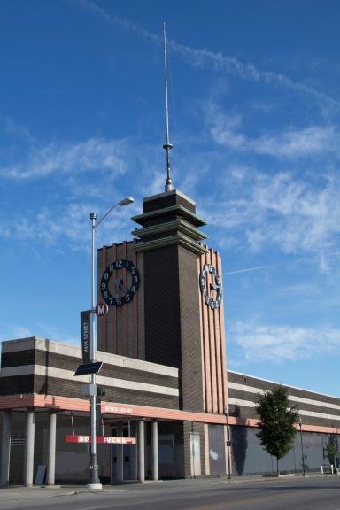 clock building